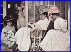 1907/63 Vintage 11x14 WOMEN Fashion Hat Dress THAMES Photo Art EDWARD STEICHEN