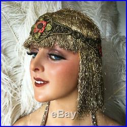 1920's Flapper Charleston Headpiece Headdress Costume Fashion