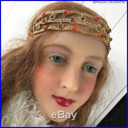 1920's Flapper Gatsby Stage Headdress Headpiece Tiara Wedding
