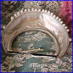 1940's Showgirl Theater Stage Headdress Headpiece Crown Opera