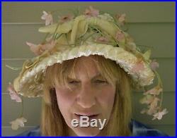 1950s Bill Cunningham William J Hat Millinery Lot 3 Unusual Hats