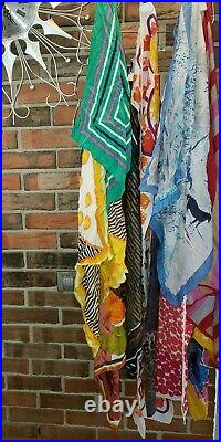 40 Piece LOT VINTAGE Womens Clothing Skirts Dresses Blouses Jackets Hats Scarfs