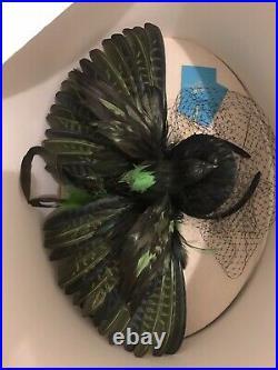 Anna Dello Russo H&m Rare Statement Bird Headpiece Fascinator Hat New In Box