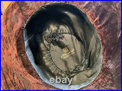 Antique J. B. Branch & Co. 1900s Victorian Edwardian Hat with Taxidermy Bird