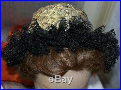 Antique Unique Hungarian Traditional ethnic PALOC Female Headdress from Diosjeno