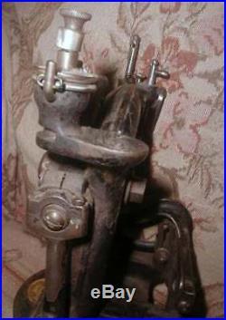 Antique WILLCOX & GIBBS Millinery Sewing Machine Model 200 Straw Braid Hats