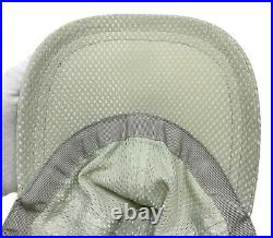 Auth CHANEL Sport Vintage Coco Mark Mesh Baseball Cap Hat #S Light Gray RankAB
