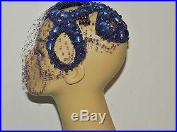 Bes Ben 1940s 1950's Blue Moonstone Cap / Hat