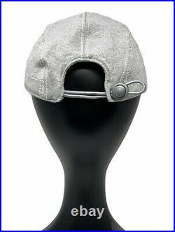 CHANEL Sport Vintage Coco Mark Cc Logo Cap Head Accessory #S Light Gray RankAB