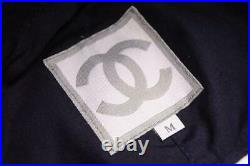 CHANEL Sports Hat Cap Vintage 100% Cotton Ladies Used Excellent