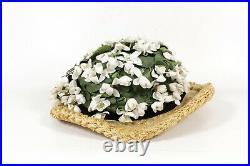 Christian Dior 80S Flowers Hat Vintage