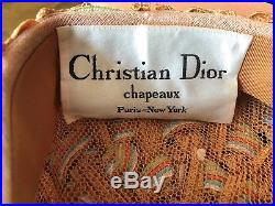 Christian Dior Chapeaux Turban Style Hat 1950's