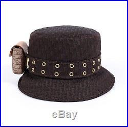 Christian Dior John Galliano Jacquard Diorrisimo Bucket Trotter Hat Vintage