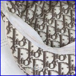 Christian Dior Monogram Trotter Logo Embroidery Flower Paper Boy Beret Hat