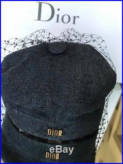 Christian Dior NWT Hat With Veil Summer 2018
