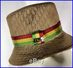 Christian Dior Rasta Hat Formerly Owned By Carmen Electra