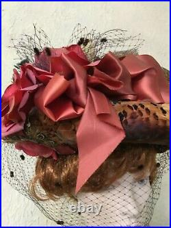 Edwardian HAT Exceptional withfull BIRD from Saratoga Hat Shows