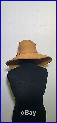 Elsa Schiaparelli Wide Brim Hat