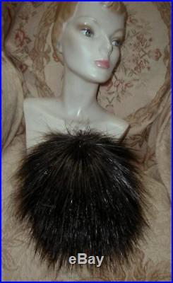 FRENCH 1950s MAUD ROSER, PARIS Spiky EGRET FEATHER Wig HAT DIOR Milliner WILD