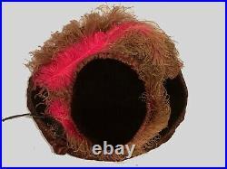 Fabulous All Original Edwardian Velvet Edwardian Hat c. 1910