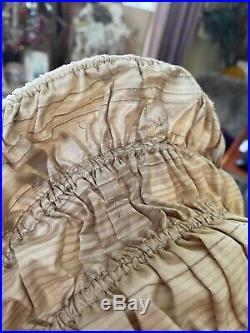 French Silk Wire 1860 Victorian Civil War Era Antique Ladies Vintage Bonnet Hat