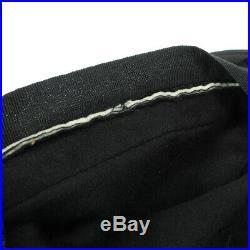 GUCCI Shelly Line Women's Hat Black Italy #XL Authentic Vintage AK38449c