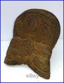 Gorgeous, antique victorian Riegelhaube, Headdress Bonnet, Germany