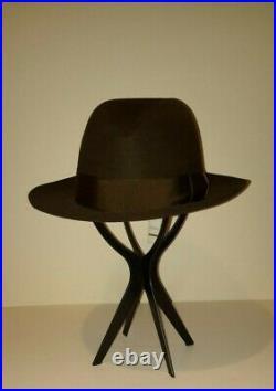 Gucci Tobacco Felt Hat Made In Italy Vintage Still Nwt Sz 9
