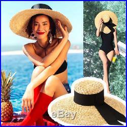 HAT Women Scarf Silk 100% Handbag Straw Brim Wide Summer Boater Ribbon Dragonfly