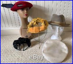 Huge Fabulous lot 51 Vintage 40's 50s 60s Ladies HATS Wholesale 4 vintage Store