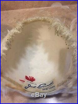 Jack McConnell Red Feather VINTAGE 2 PC CLOCHE FEATHER HAT. ABSOLUTELY STUNNING
