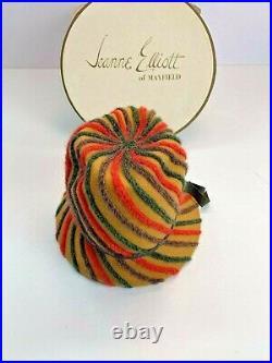 MR JOHN JR Classic NY Paris Geo W Bollman Co Derby Hat with original box Kentucky