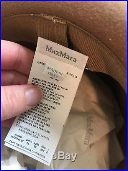 Max Mara Camel Hat New Never Worn