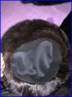 Mink coats for women vintage, Matching Mink Hat Included