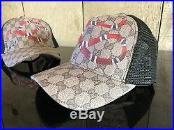 NEW fashion Hat Black Gray Special Snake Adjustable size perfect gift idea