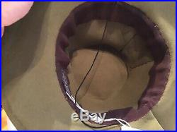 Olive vintage 40s Hat Tilt Red bird Batrisha Hollywood Wool schiaparelli Style