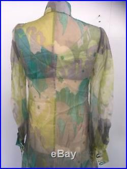 Original & Rare Vintage 1960s Annacat Print Outfit