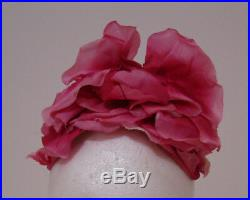 Phyllis Diller Worn Vintage Raymond Hudd Floral Hat From Her Juliens Estate Sale