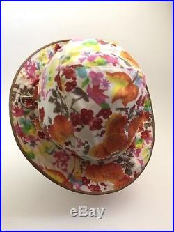 Rare Vtg Christian Dior Floral Hat