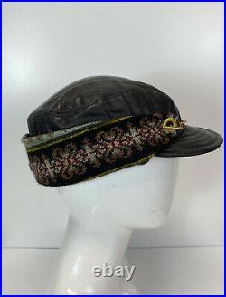 Rare Vtg Jean Paul Gaultier Black Trapper Hat