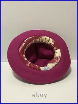 Rare Vtg Vivienne Westwood Pink Felt Mountain Hat