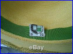 Spectacular Vintage Straw Picture Hat withorig Box and Receipt 1945 Mint Condition