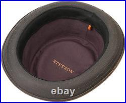 Stetson Sun Guard Vintage Pork Pie Player Hut Hat Hüte Odenton 6 Braun Trend
