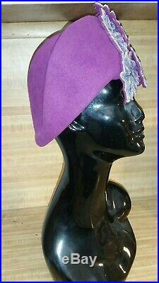 Stunning Vintage Jack McConnell Boutique Hat