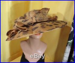 Stunning vintage k. Derby / church hat