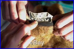 Tessy Hut chapka Twiggy SchirmMütze Toscana Lamm 55 True Vintage 60er Pelzmütze