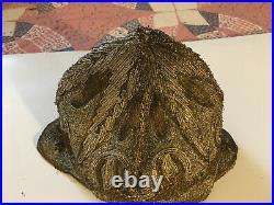 VINTAGE ANTIQUE HAT 1920s PARIS HEAD DRESS SILK FLAPPER RARE