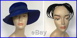 VTG 39 pc. Hat LOT 1920s30s40s50s60s70sFeathersClocheNetFrench Millinery