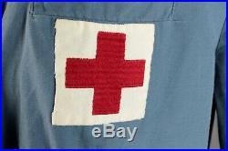 VTG Women's WWII ARC Volunteer Uniform & Hat S L #2643 US WW2 American Red Cross