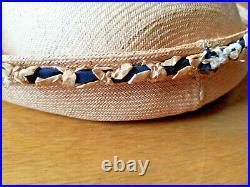 Vintage 1960s William J Bill Cunningham Hat